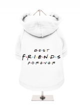 ''Best Friends Forever'' Fleece-Lined Dog Hoodie / Sweatshirt
