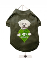 ''Save the Rainforests'' Dog T-Shirt