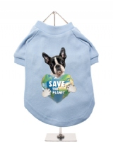 ''Save the Planet'' Dog T-Shirt