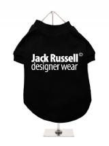 ''Jack Russell Designer Wear'' Dog T-Shirt