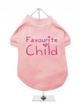 ''Favourite Child'' Dog T-Shirt