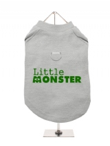 ''Little Monster'' Harness-Lined Dog T-Shirt