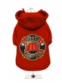 ''Fire Dept.'' Dog Sweatshirt