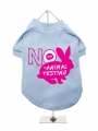 ''Say No to Animal Testing'' Dog T-Shirt