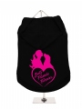 ''Best Friends Forever Heart'' Dog Hoodie