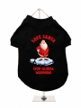 ''Christmas: Stop Global Warming'' Dog T-Shirt