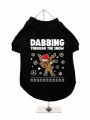 ''Christmas: Dabbing Through The Snow'' Dog T-Shirt