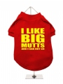 ''I Like Big Mutts'' Dog T-Shirt