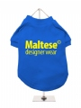 ''Maltese Designer Wear'' Dog T-Shirt