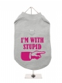 ''Im With Stupid'' Harness T-Shirt