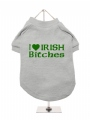 ''St. Patrick: I Love Irish Bitches'' Dog T-Shirt