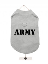 ARMY - Harness-Lined Dog T-Shirt