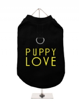 PUPPY | LOVE - Harness-Lined Dog T-Shirt