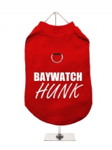 BAYWATCH | HUNK - Harness-Lined Dog T-Shirt