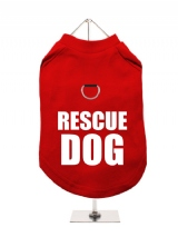 ++++ | RESCUE | DOG - Harness-Lined Dog T-Shirt