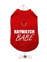 BAYWATCH | BABE - Harness-Lined Dog T-Shirt