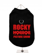 ROCKY | HORROR | PICTURE SHOW - Harness-Lined Dog T-Shirt