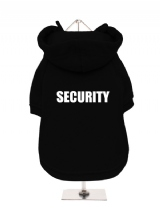 SECURITY - Fleece-Lined Dog Hoodie / Sweatshirt