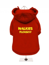 WALKIES | PLEASE!!! - Fleece-Lined Dog Hoodie / Sweatshirt