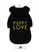 PUPPY | LOVE - Fleece-Lined Dog Hoodie / Sweatshirt