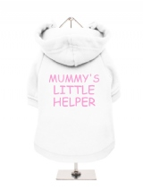 MUMMY'S | LITTLE | HELPER - Fleece-Lined Dog Hoodie / Sweatshirt