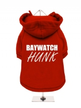 BAYWATCH | HUNK - Fleece-Lined Dog Hoodie / Sweatshirt