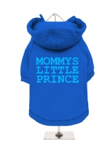 MOMMYS | LITTLE | PRINCE - Fleece-Lined Dog Hoodie / Sweatshirt