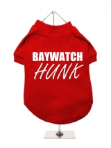 BAYWATCH | HUNK - Dog T-Shirt