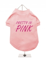 PRETTY IN | PINK - Dog T-Shirt
