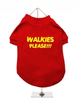 WALKIES | PLEASE!!! - Dog T-Shirt