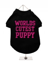 WORLDS | CUTEST | PUPPY - Dog T-Shirt